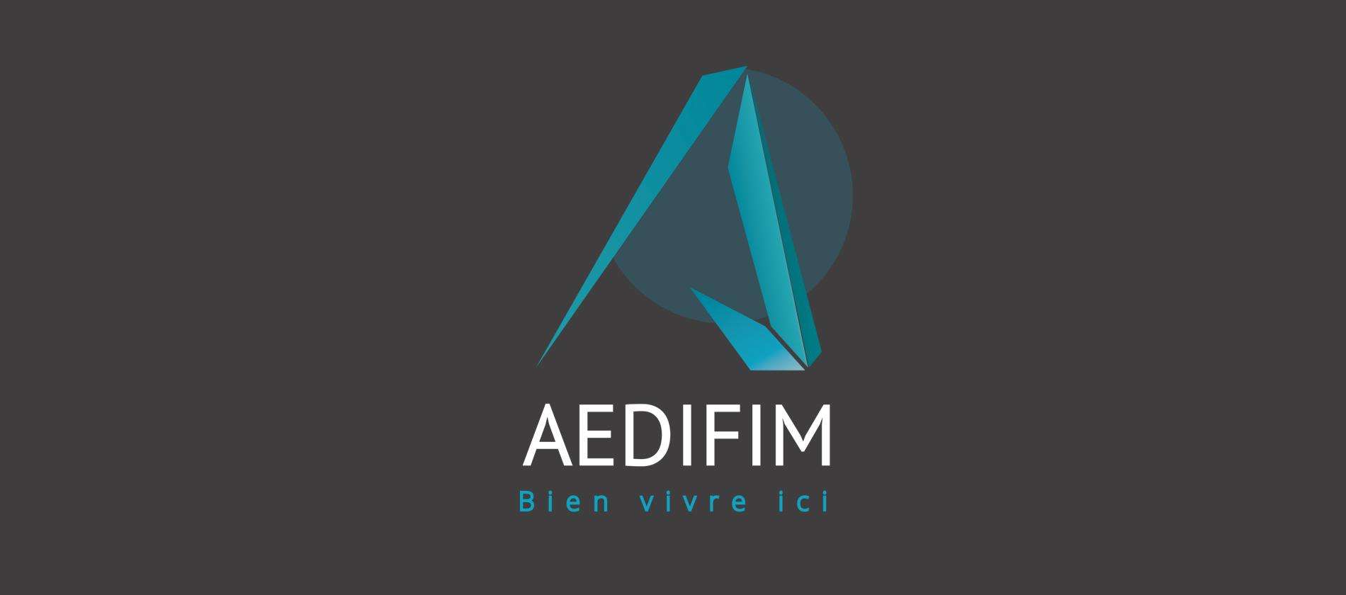 Logo Aedifim constructeur immobilier au Pays Basque