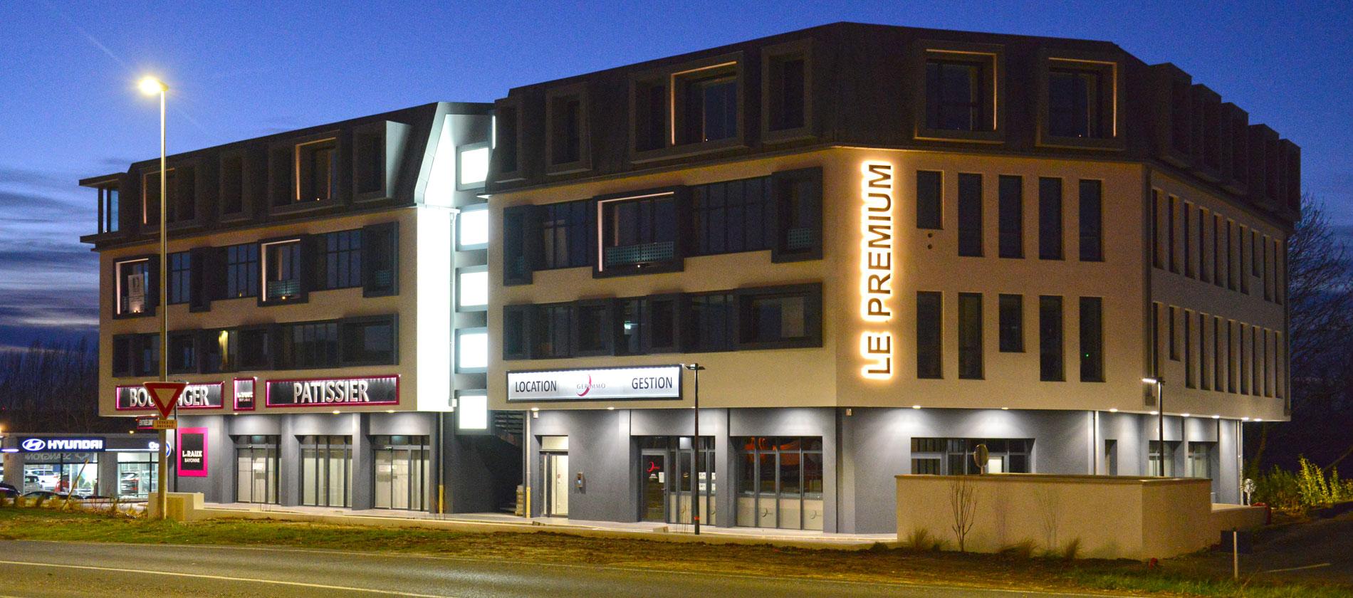 Bayonne, programme immobilier neuf Aedifim